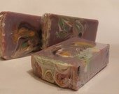 Royalty Soap, Homemade Soap / Handmade Soap / Handcrafted Soap / Cold Process Soap / Moisturizing Soap / Mowrah Butter / Murumuru Butter