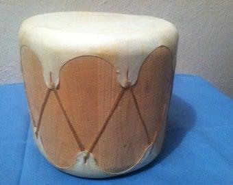 Original Native American Indian Ceremonial Drum Rare!!