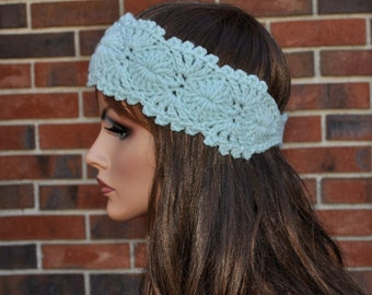 Crochet headband, 4 Season  headband,  Very cute, Handmade Accessory,  Womens Crochet Headband. Style.5