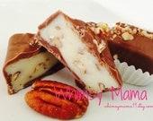 Maple Pecan Truffles covered in Dark or Milk Chocolate