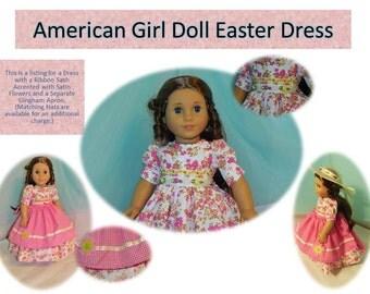 American Girl Doll Easter Dress new for 2015