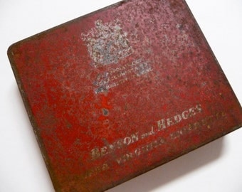 Benson and Hedges Cigarette Tin