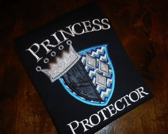 Princess Protector Embroidery Shirt