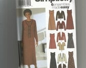 Simplicity pattern 5858 Misses Dress and Jacket size 12 14 16 18 20