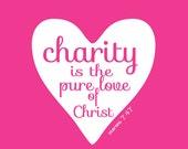 "Charity - 8x10"" - Digital Download - Printable"