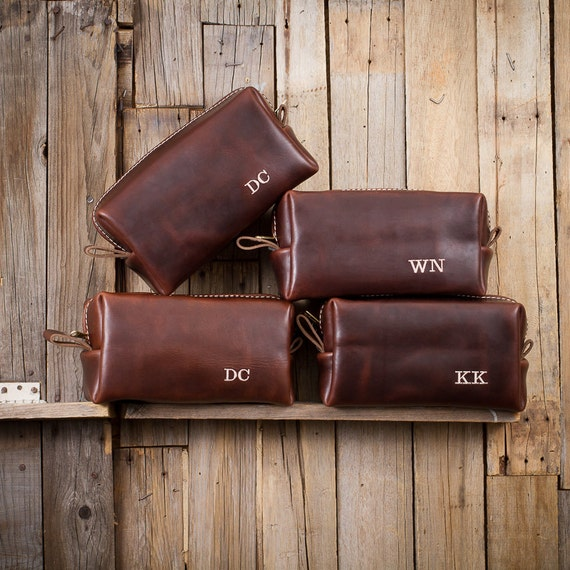 Famous Horween Leather Men S Toiletry Bag Dopp Kit Shaving