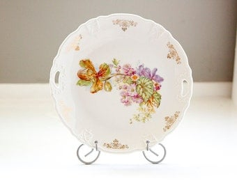 Vintage Cake Plate by Three Crown China Germany