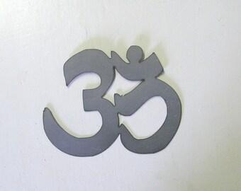 OM, metal wall art, OM symbol, namaste art, yoga decor
