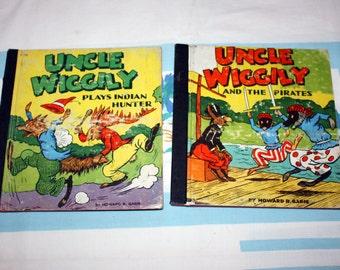 2 Uncle Wiggily Books, 1931