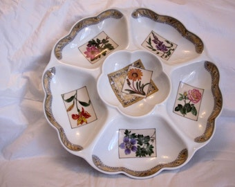 Sectional Serving Bowl by Royal Worcester