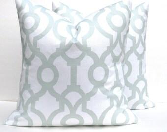 Decorative Throw Pillows Euro Pillow Covers ONE 26x26 throw pillows gray Housewares Cushion Covers  Toss pillows Sofa Pillows Home Decor