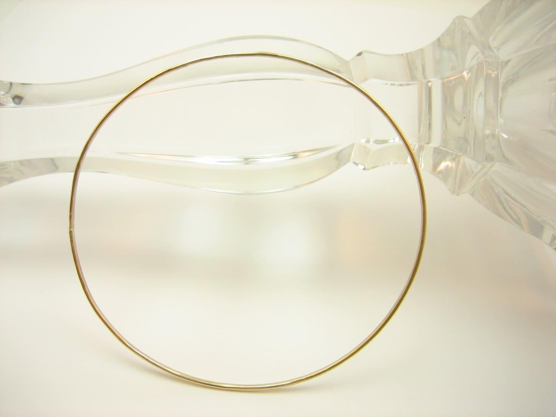 Gold stacking bangle, 14kt gold fill bangle, hammered gold bracelet bangle, simple everyday jewelry gift under 30