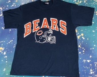 Chicago BEARS Football T-Shirt Size L