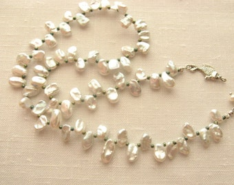 Not Your Mama's Pearl Necklace Fresh Take on a Classic Strand of Pearls