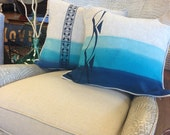 Ombre Pahu Decorative Pillow in a variety of sizes and colors