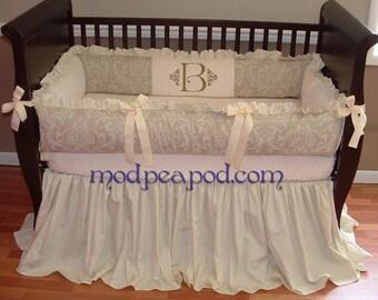 Unique Authentic ModPeaPod Baby Crib Bedding Set Gorgeous Modern Luxurious