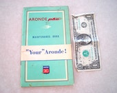1959 Simpca Arone P60 Maintenance Book or Owners Manual,  w/ Flash Engine!