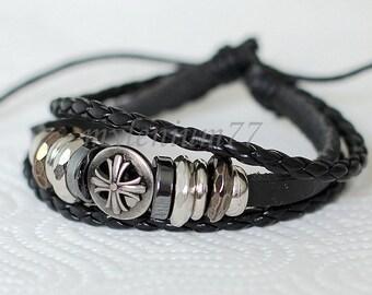162 Men bracelet Women bracelet Cross bracelet Rings bracelet Leather bracelet Braided bracelet Woven bracelet Fashion bracelet
