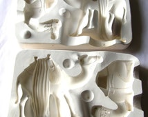 Vintage Camel Mold - Standing Camel - Laying Camel - Nativity Camel