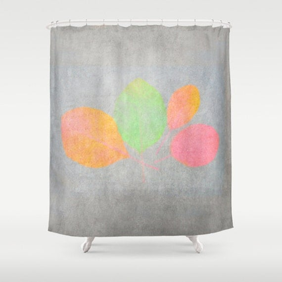 Items similar to shower curtain autumn leaves modern Nature inspired shower curtains