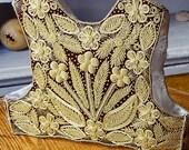 Folk Embroidered  Vest