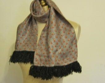 Vintage gentleman's scarf 1940s
