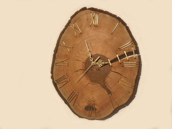 unique wall clocks 16 unique walnut wall clock 29568