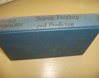 1961 Science Prophecy and Predictions by Lewinsohn Language of the Stars The world of Dreams Wishing