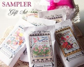 Dusting Powder SAMPLER Gift Set - Six (6) Fragrances with Three Different Vintage Style Packaging Options to Choose From