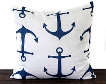 Unique anchor pillow related items etsy for Anchor decoration runescape