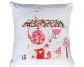 SALE 75% OFF Cute Country Cottage Cushion / Pillow