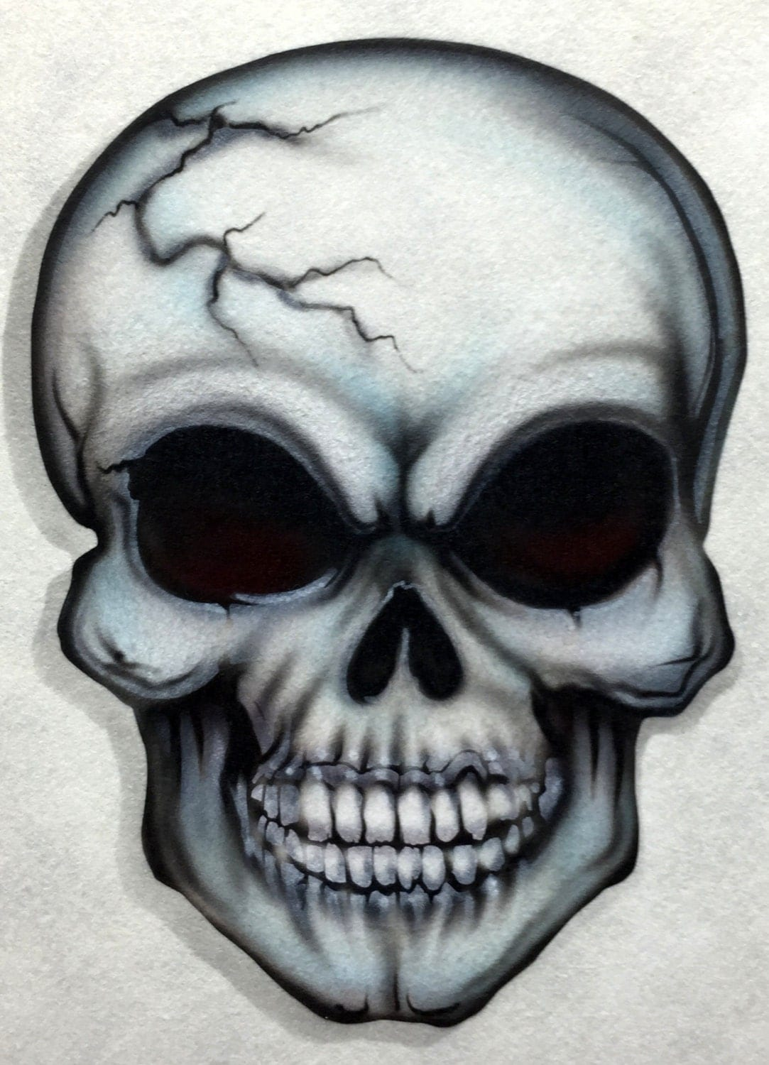 How To Paint Skulls On A Car