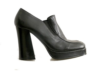 90s heels RICHELIEU us7 fr38 uk 5