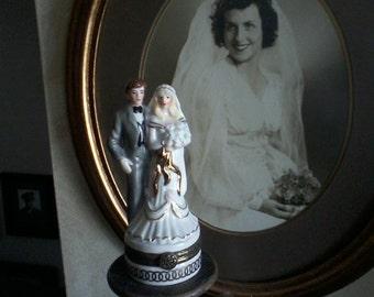 Bride and Groom Trinket Box