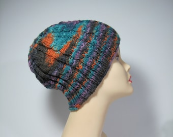 Hand Knit Cable Hat in Great Colors
