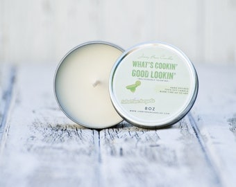 Salted Lime Margarita- Travel/Kitchen Soy Tin Candle