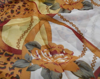 Stunning Soft & Silkie Scarf-BrownDesigned-S123