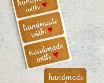10 Handmade with love (Kraft)