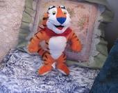 1993 Tony The Tiger Stuffed Animal :)S Vintage Stuffed Animals,Advertising Toys,Vintage Toys,