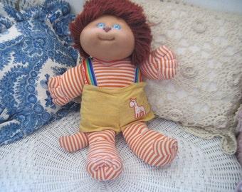 1983 Cabbage Patch Doll Koosas Doll Stuffy