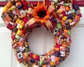 Thanksgiving Minnie Mouse Wreath
