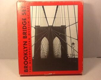 Brooklyn Bridge Bridge Set, The Metropolitan Museum of Art, Bridge Set, Card Game
