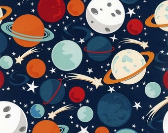 Wilmington fabric PLANETS