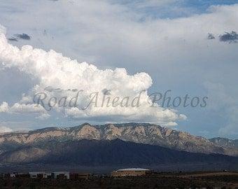 Sandia Mountains, New Mexico, Southwest photograph