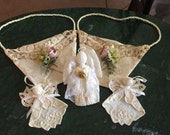 Vintage Wedding Craft Item Patterns - Sachet Bags - Angels