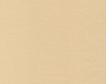 SAVE on 1.67 yd. bolt end--CIRRUS organic cotton solids--SAND--Cloud9 Fabrics