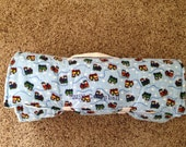 Personalized Toddler Nap Mat with attached blanket & pillow