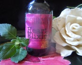 Heart Elixir: Remedy to Open, Heal, + Protect the Heart with Rose, Tulsi, Flower Essences of Yarrow, Magenta Lotus, Johnny Jump-up, Hawthorn