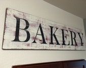 Rustic Bakery Sign