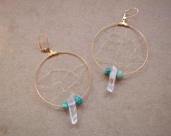 Suncatcher Crystal Earrings